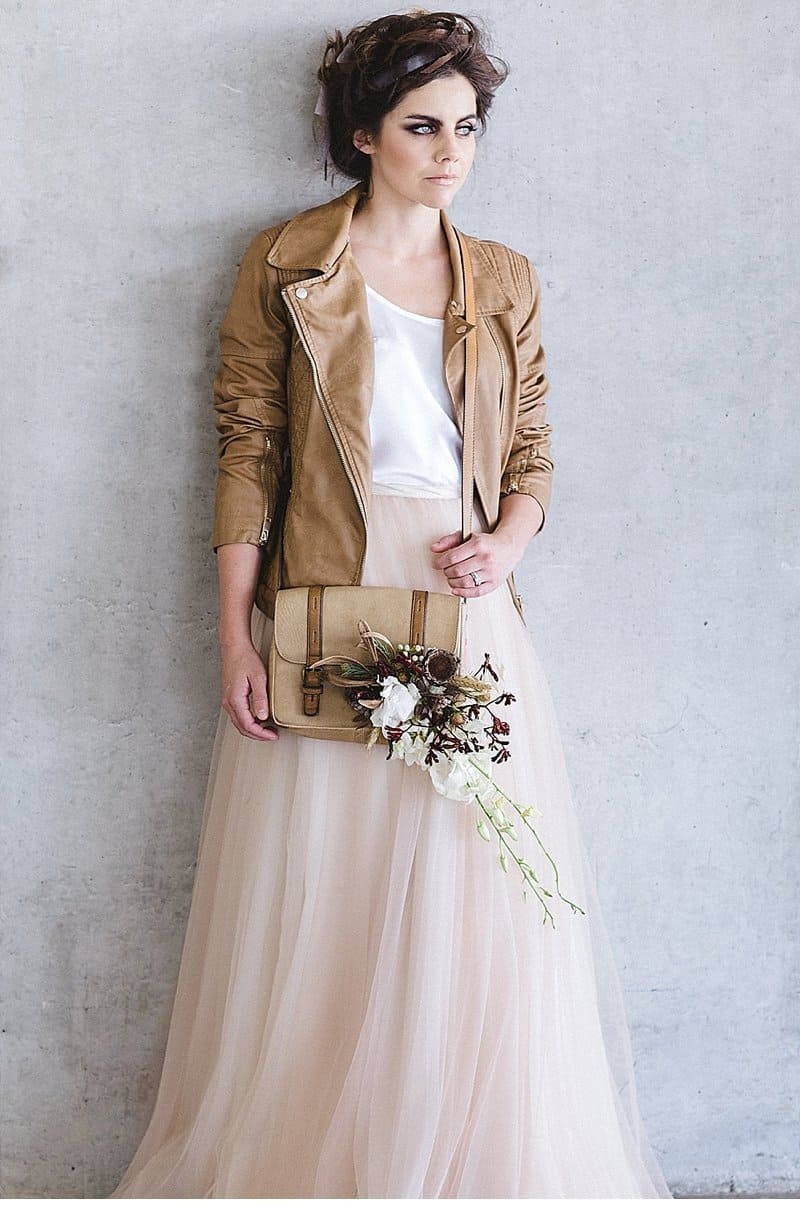 Leather Durable Like Love Wedding Inspiration By