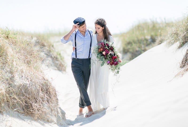 Unbeschwerte junge Liebe – bezauberndes Strandshooting von Anja Schneemann und Diana Frohmüller