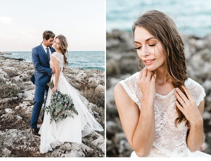 Intimate Elopement on The Beach of Sicily