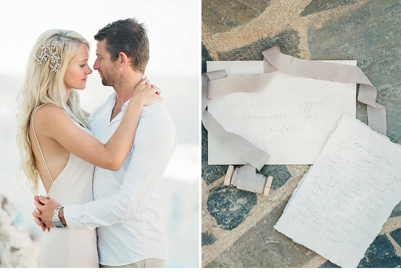Sarah And Andy-Honeymoon In Santorini