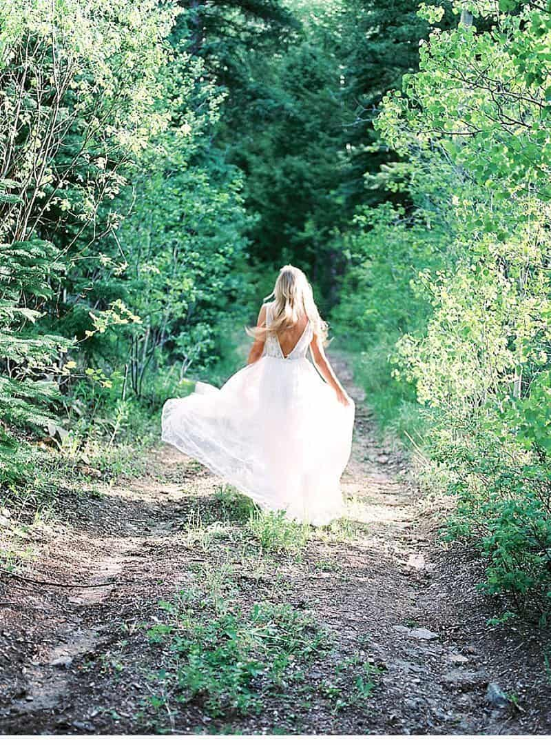 Organic and Romantic Bridal Beauty by Callie Hobbs Photography