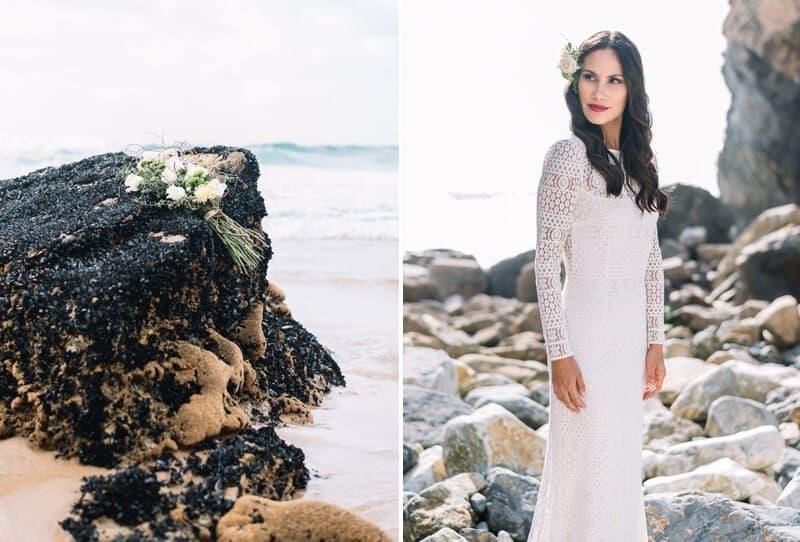 Portugiesische Strandromantik von Laboda Wedding