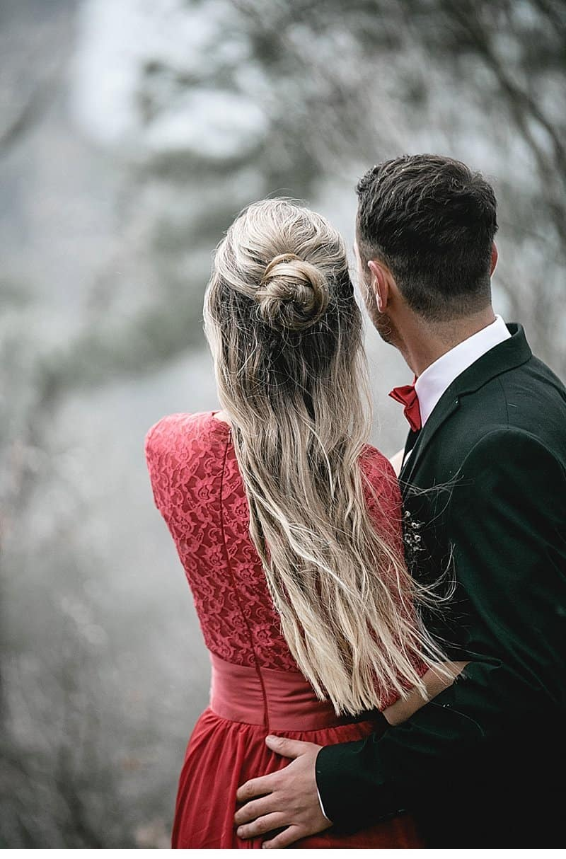 romantic elopement at burg aggstein by sophie h u00e4usler