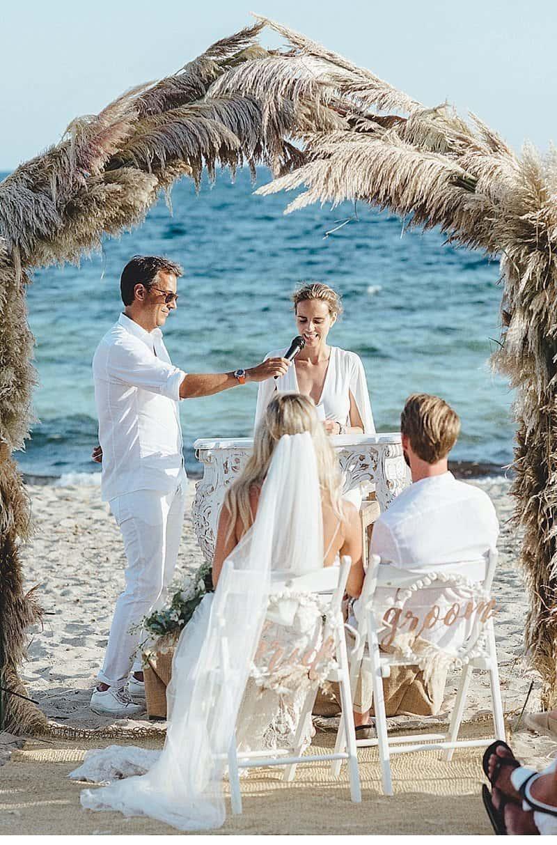 Bohemian Beach Wedding at Formentera by Kreativ Wedding