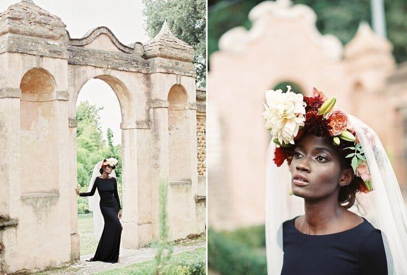 Black Swan Braut Inspirationen von Sotiris Taskanikas Photography