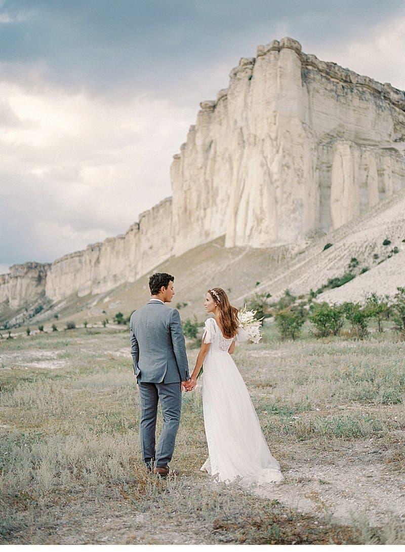 Romantic Elopement In Impressive Scenery By Malvina