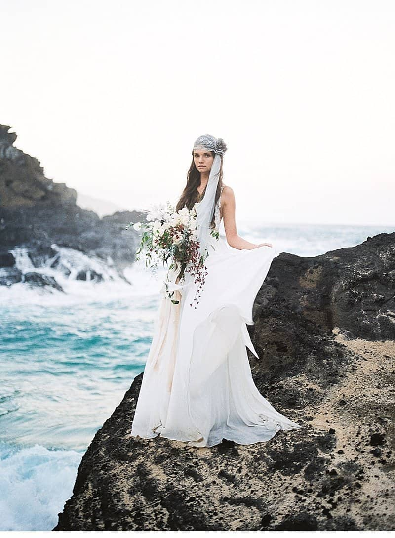 Oahu Bridal Inspirations by Lushana Bale Photography