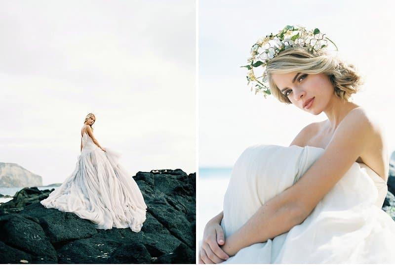 Enchanting Bridal Inspirations on the Hawaiian Coast by Inga Avedyan ...