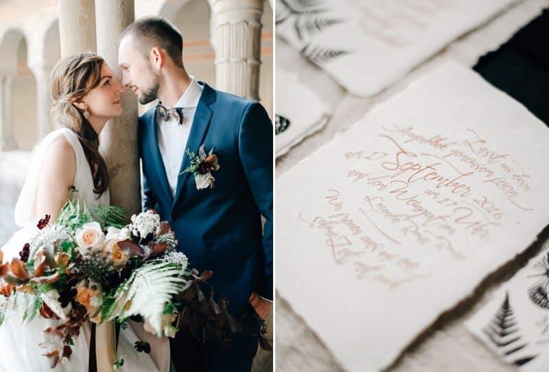 Romantische Trauung in Italien von Blue & Ivory und Grace & Blush Photography