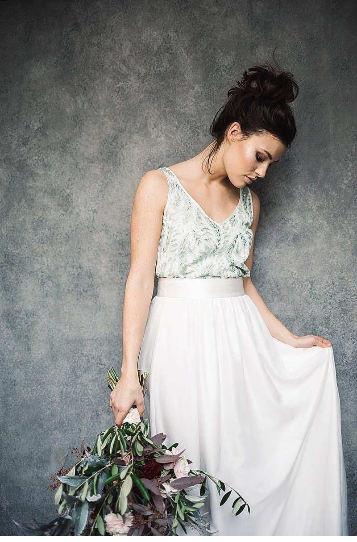 Lässig-romantische Labude Bridal Couture Kollektion 2018