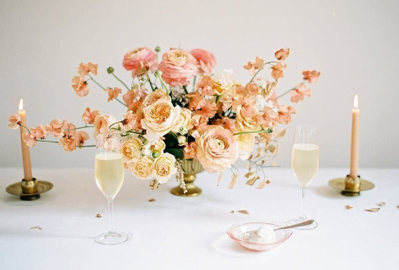 Graceful Rose Golden Beauty Inspirations by Ashley Ludaescher Photography