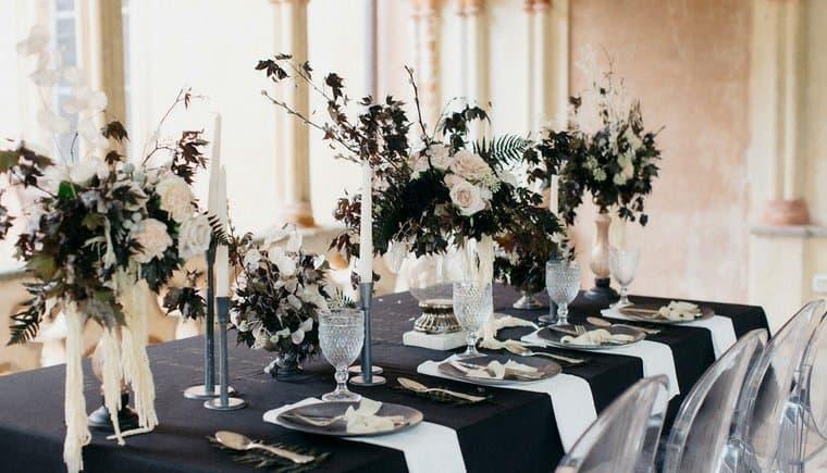 Neo-Gotische Brautinspirationen von Roberta Cavaliere und  Carla Penoncelli