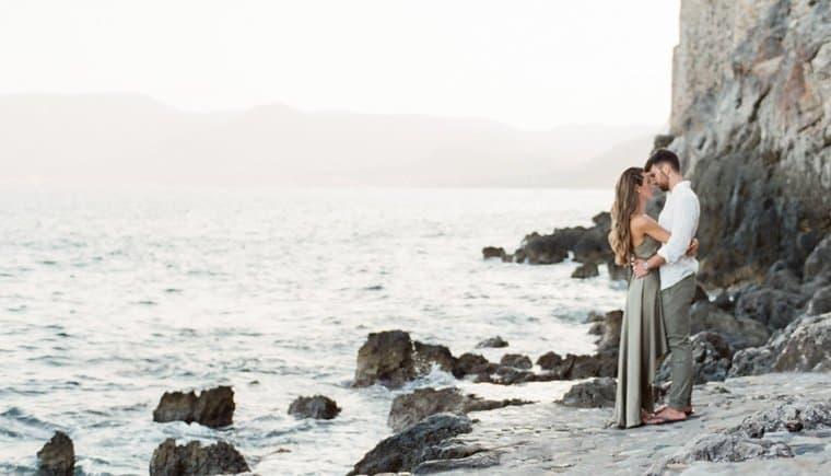 Pre-Wedding Shooting an der griechischen Küste von Gert Huygaerts