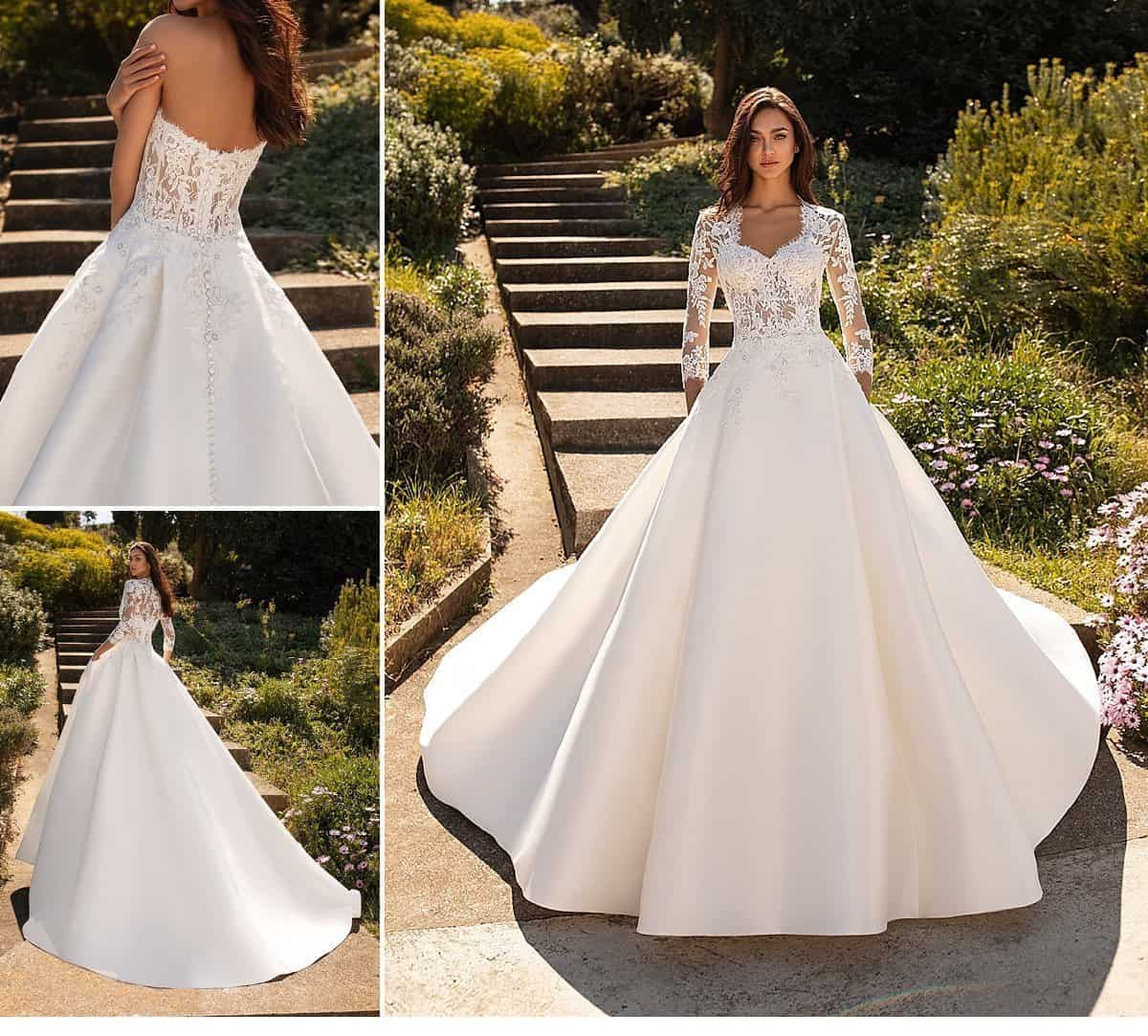 Garden Wedding Gowns: Pronovias Garden Wedding Bridal Dresses 2020