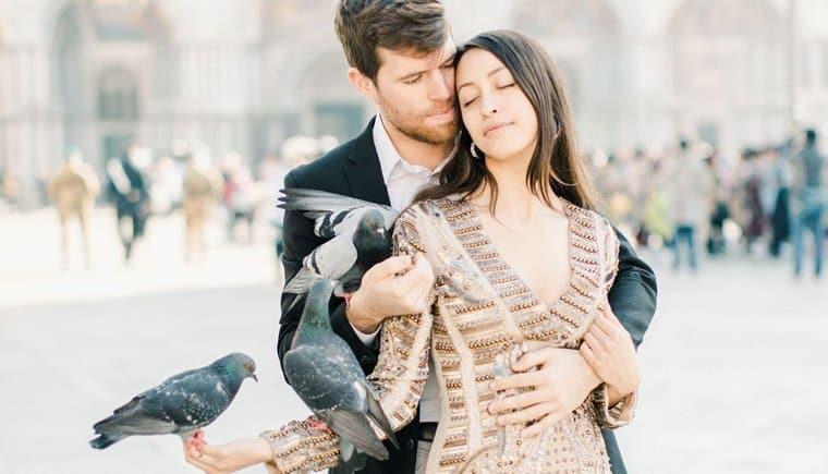 Junge Liebe im verträumten Venedig von Ewigmein Photography