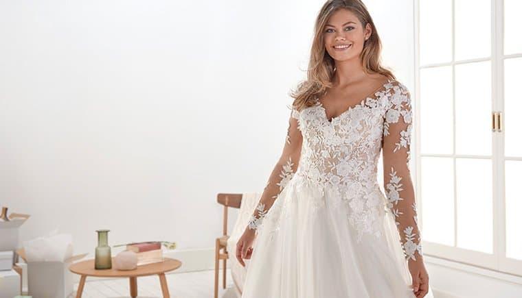 White One Bridal Kleider für hinreißende Plus Size Bräute