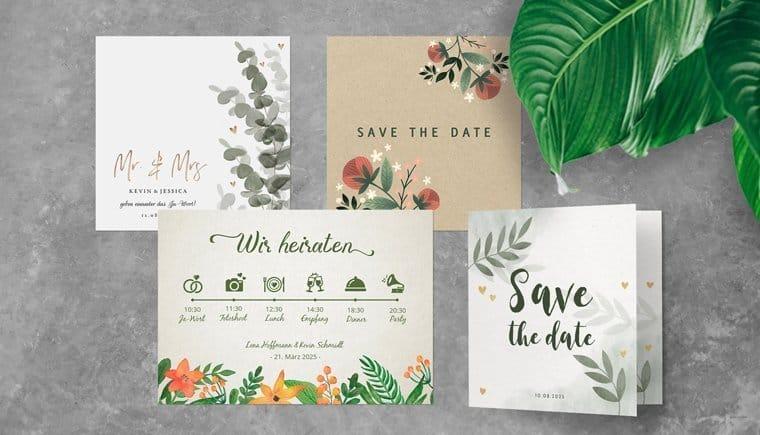 Einzigartige Hochzeitspapeterie Designs von Kaartje2go