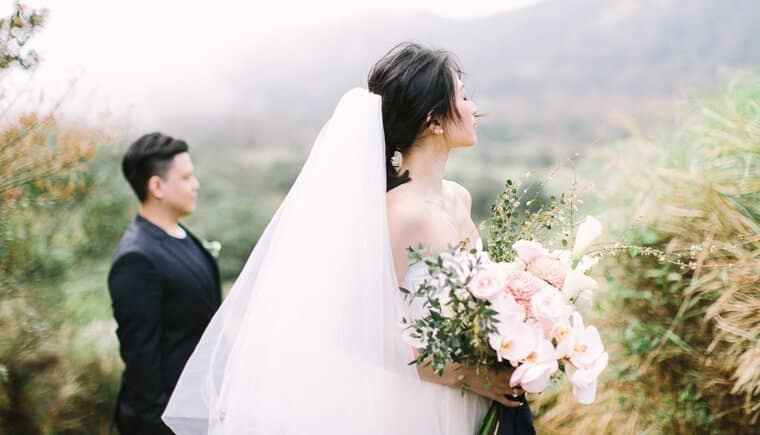 Exotisches Elopement in Taiwan von Maricle Kang Photo