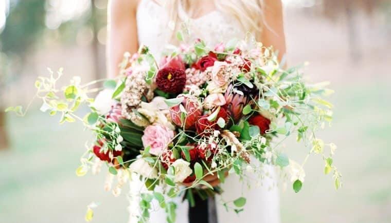 Romantische Bohemian Hochzeit von Erich McVey Photography