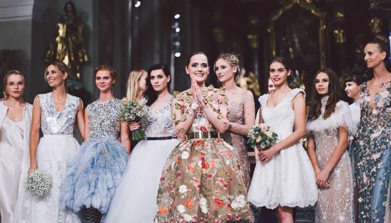 Eva Poleschinski Couture-Show in der Stadtpfarrkirche Hartberg