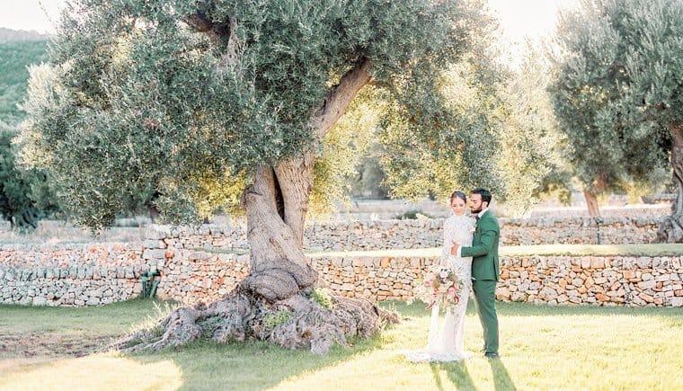 Finca Hochzeit im paradiesischen Apulienvon Elisabeth van Lent Photography