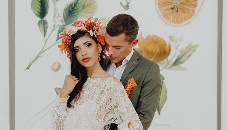 Exotische Hochzeitsideen im Urban Jungle