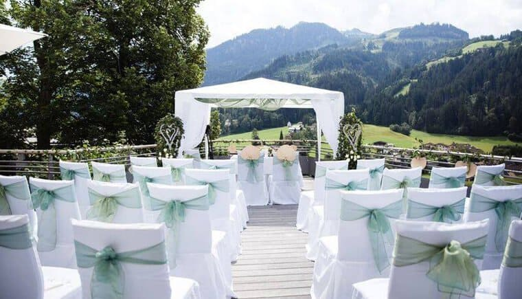 Hochzeit im Hotel Schloss Lebenberg in Kitzbühel