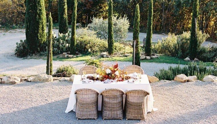 Ein romantisches Herbstfest für die Liebe von Weddings by Silke und Shasta Bell