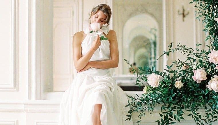 Romantische Hochzeitsinspirationen imChateau de Santeny