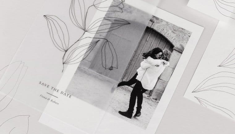 Federleichte Hochzeitspapeterie von Atelier Rosemood