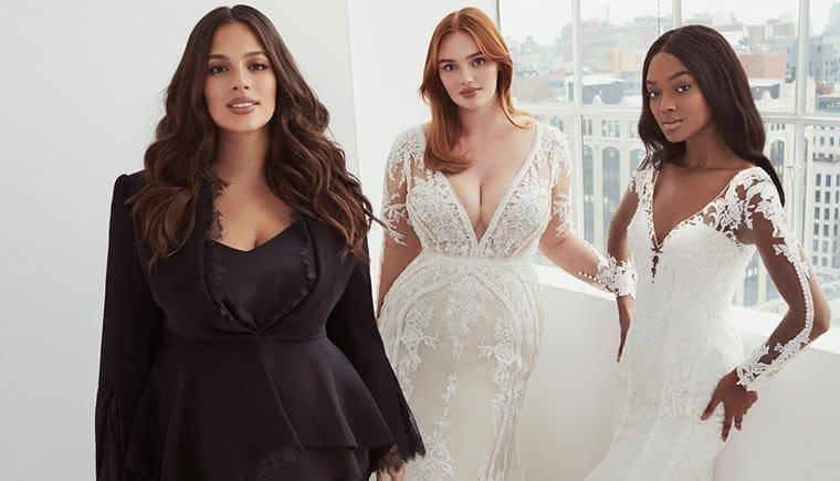 Traumhafte Brautmode von Ashley Graham für Pronovias