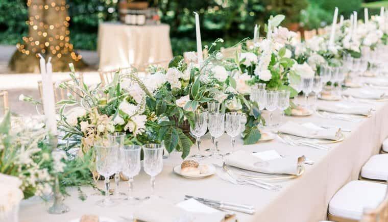 Romantische Jüdische Hochzeit in der Toskana
