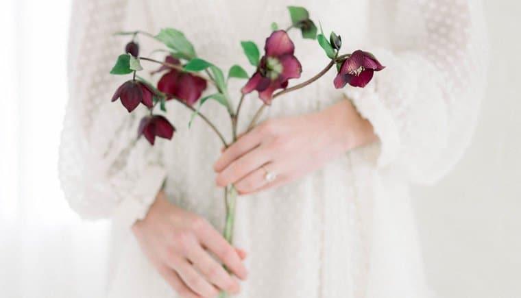 Floraler Hochzeitstraum einer Ballerina
