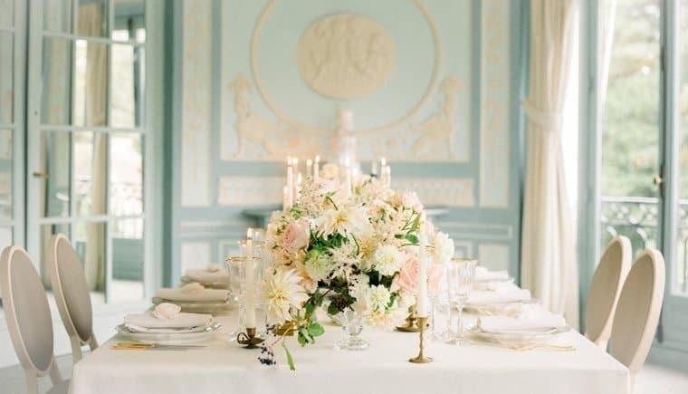 Französische Hochzeitsinspirationen á la Marie-Antoinette