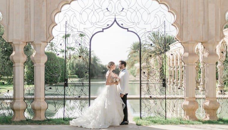 Französische Hochzeit im marokanischen Palais Namaskar