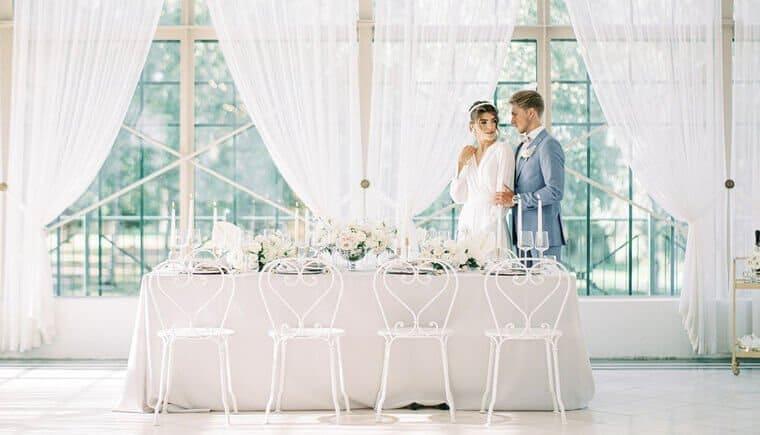 Finnische Hochzeitswelt mit modernen Akzenten