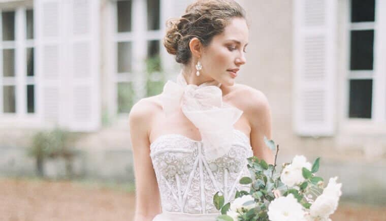 Mystische Braut Inspirationen auf Chateau de Bouthonvilliers