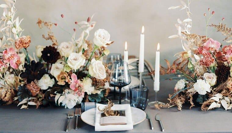 Skandinavische Hochzeitsvielfalt