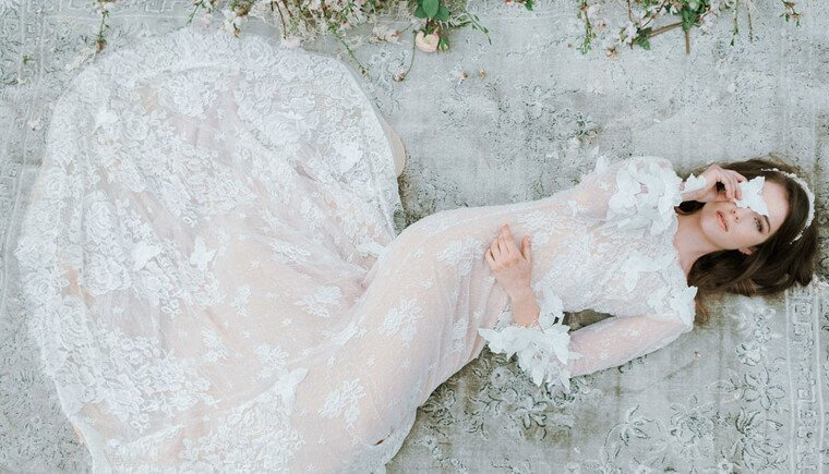 Romantische Mandelblüten-Hochzeitsinspirationen