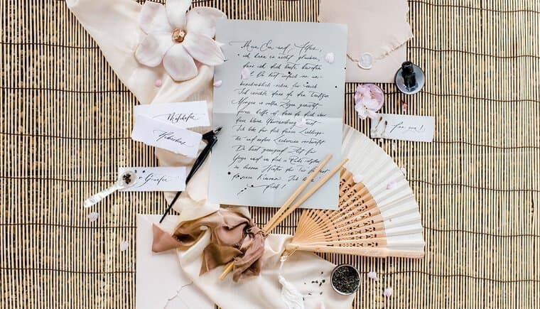 Frühlingshafte Zen Braut Inspirationen