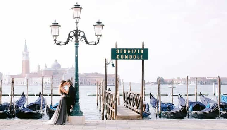 Elegante Pre-Wedding Session in Venedig